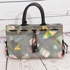 Dooney & Bourke grey summer fun handbag FRF